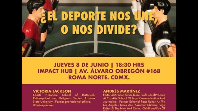 deporte poster