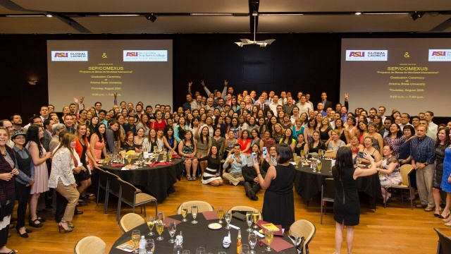 194 English teachers came to Arizona State University from Mexico for teacher training