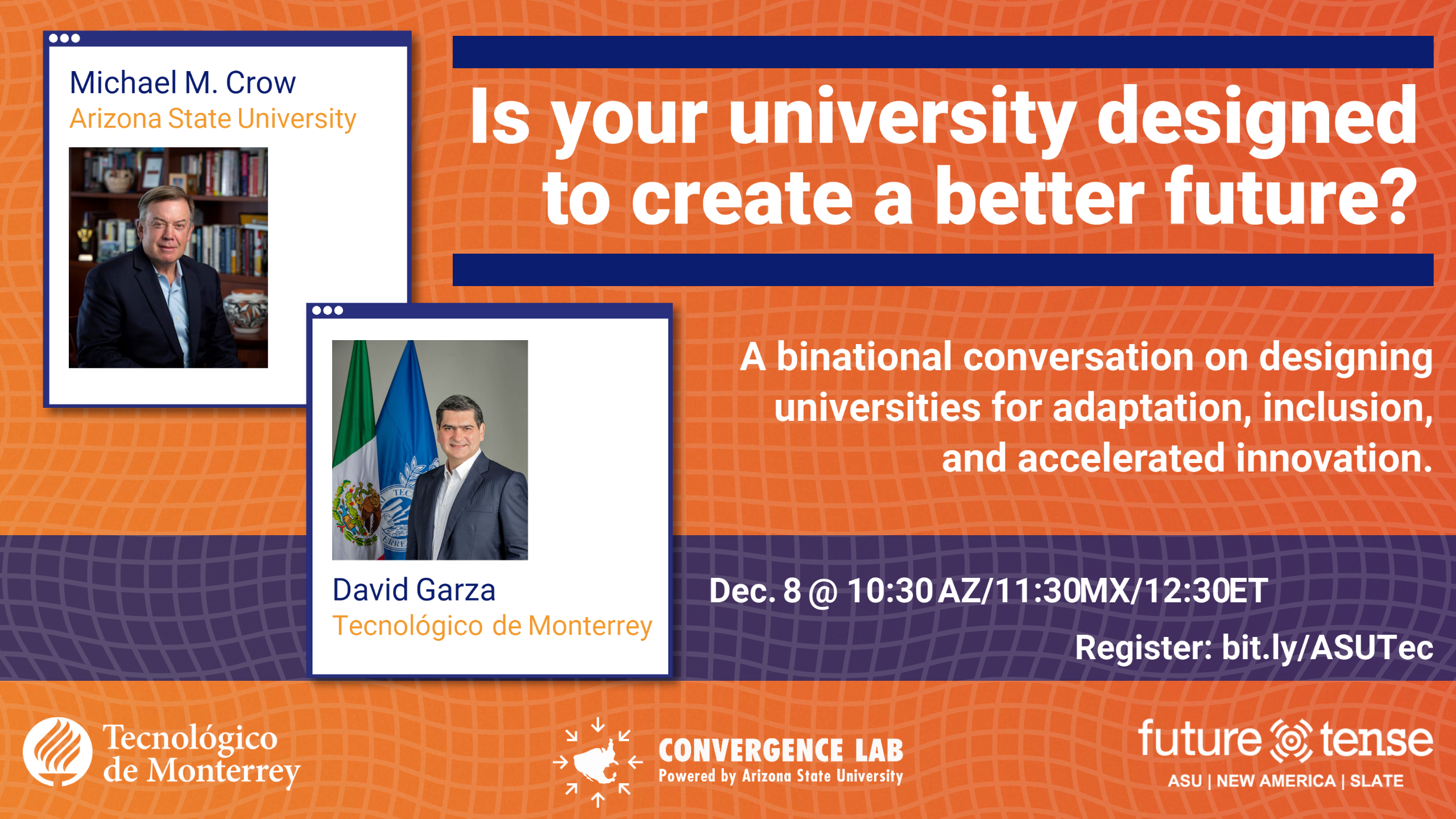 """Invitation to event """"Is your university designed to create a better future?"""""""